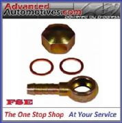 BOSCH 044 FUEL PUMP BANJO FITTING KIT 90 DEGREE SWIVEL 8MM FUEL PIPE HOSE BORE